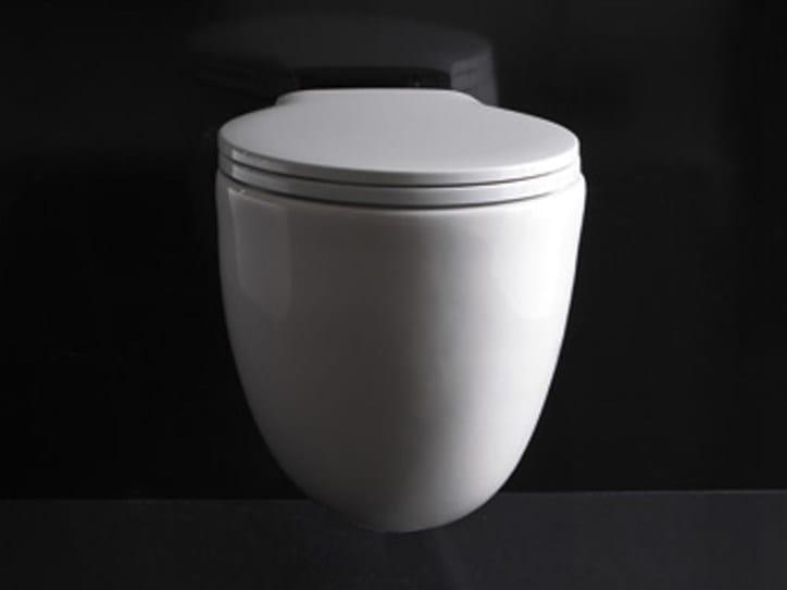 Wc sospeso in ceramica ergo wc sospeso galassia for Galassia ceramica