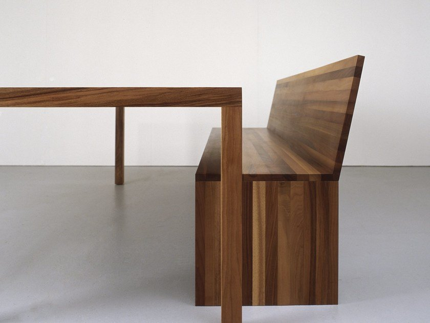 Solid wood bench FORMAT | Bench by Sanktjohanser