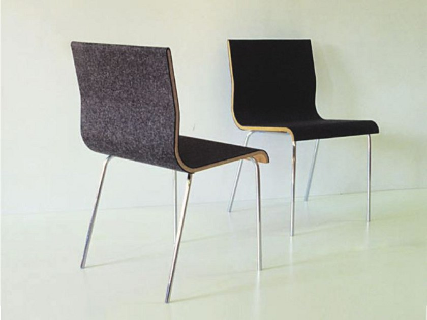 Felt chair SLOW by Sanktjohanser