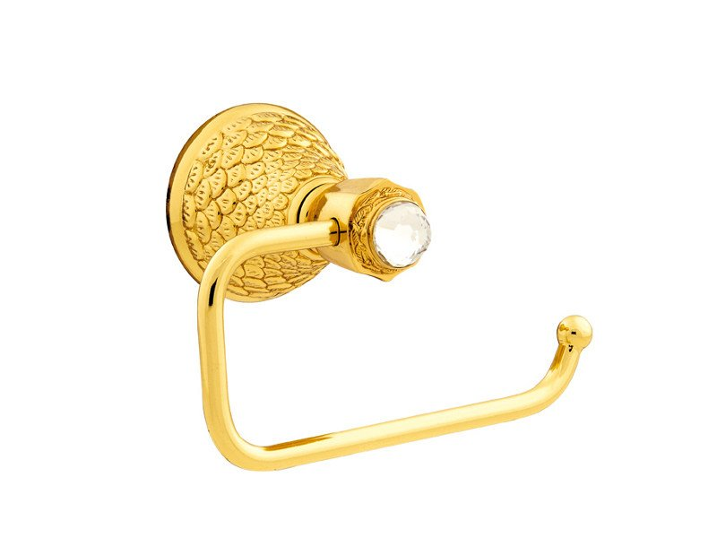 Brass towel rack with Swarovski® Crystals DRAGON | Towel rack with Swarovski® Crystals - Bronces Mestre
