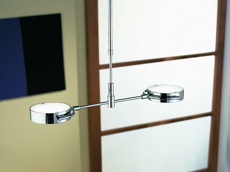 Direct-indirect light aluminium ceiling lamp PLANET / S2 - LUCIFERO'S