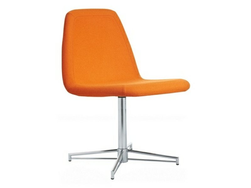 Upholstered chair with 4-spoke base SPORT | Chair with 4-spoke base - Johanson Design