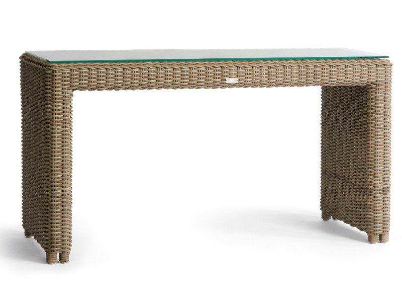 Wicker garden console SAN DIEGO | Console table - MANUTTI