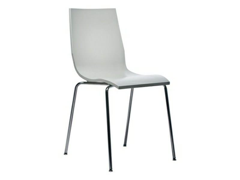 Steel chair CARAT by Johanson Design