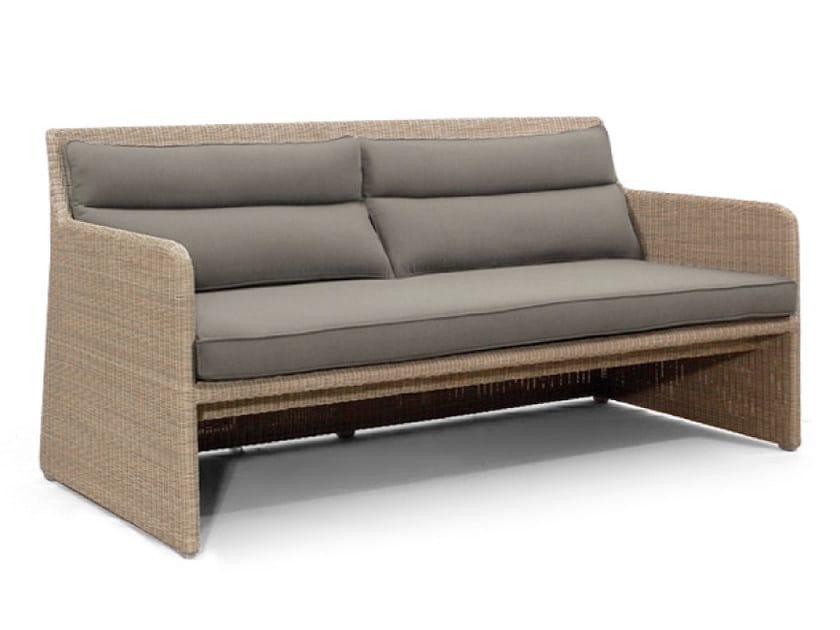 Upholstered rope garden sofa SWING | Garden sofa - MANUTTI