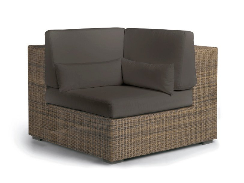 fauteuil de jardin d 39 angle composable en corde collection. Black Bedroom Furniture Sets. Home Design Ideas