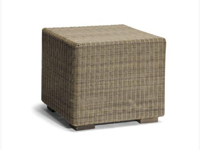 Rope garden pouf / garden side table ASPEN | Garden pouf - MANUTTI
