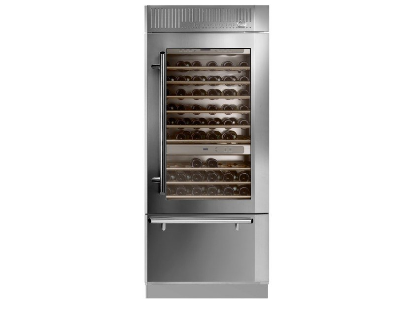 Wine cooler with glass door Wine cooler - La Cornue