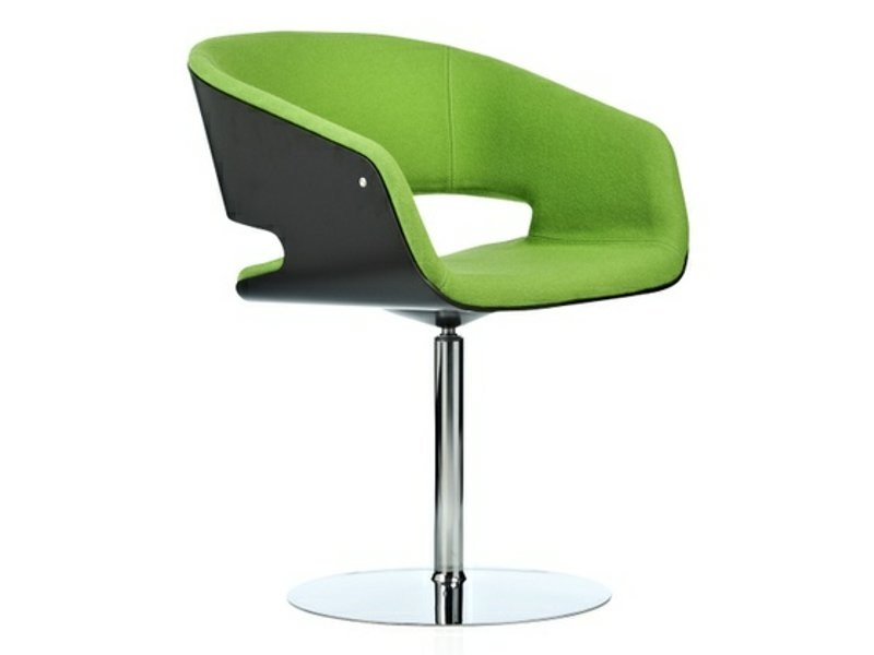 Swivel chair with armrests GAP | Swivel chair - Johanson Design