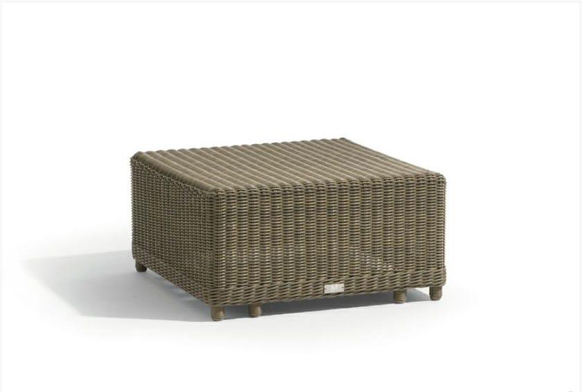 Rope garden pouf / garden side table ORLANDO | Garden side table - MANUTTI