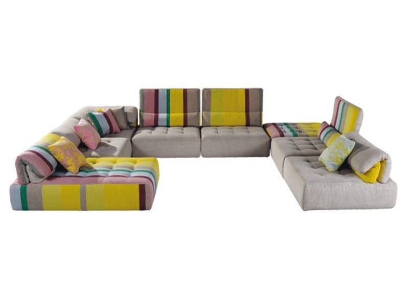 Divano componibile sfoderabile voyage immobile collezione - Roche bobois divani prezzi ...