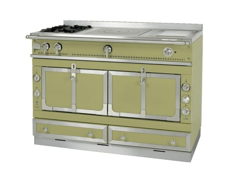 Stainless steel cooker CHÂTEAU 120 by La Cornue
