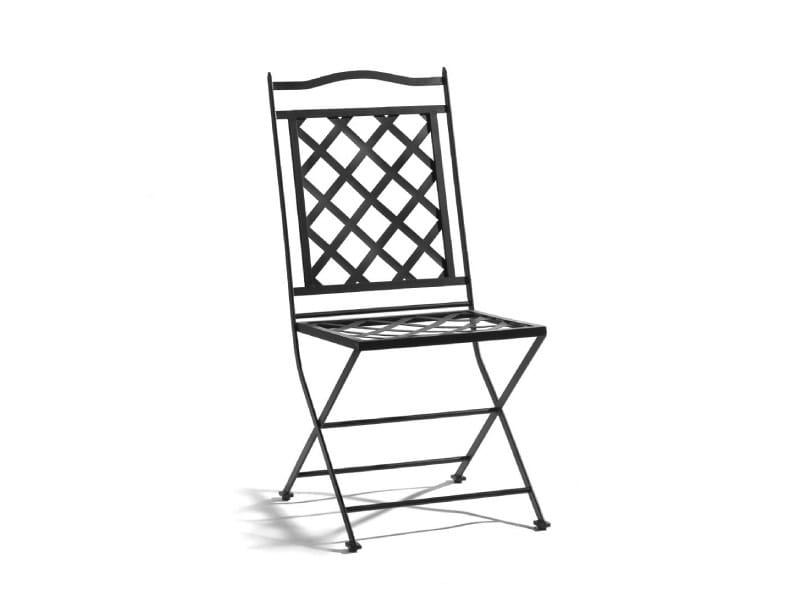 Wrought iron garden chair ST. TROPEZ | Garden chair - MANUTTI