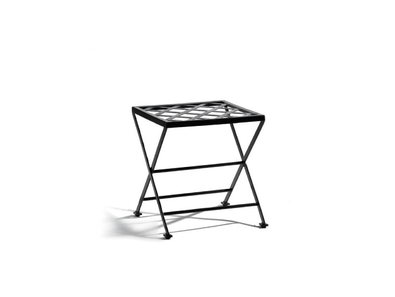 Wrought iron garden footstool ST. TROPEZ   Garden footstool - MANUTTI