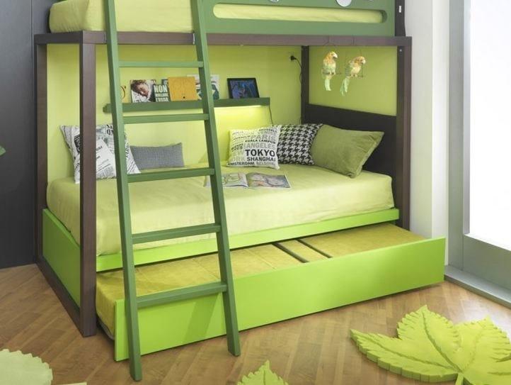 Letto a castello in legno s012 letto a castello dearkids - Mercatone uno letto a castello ...