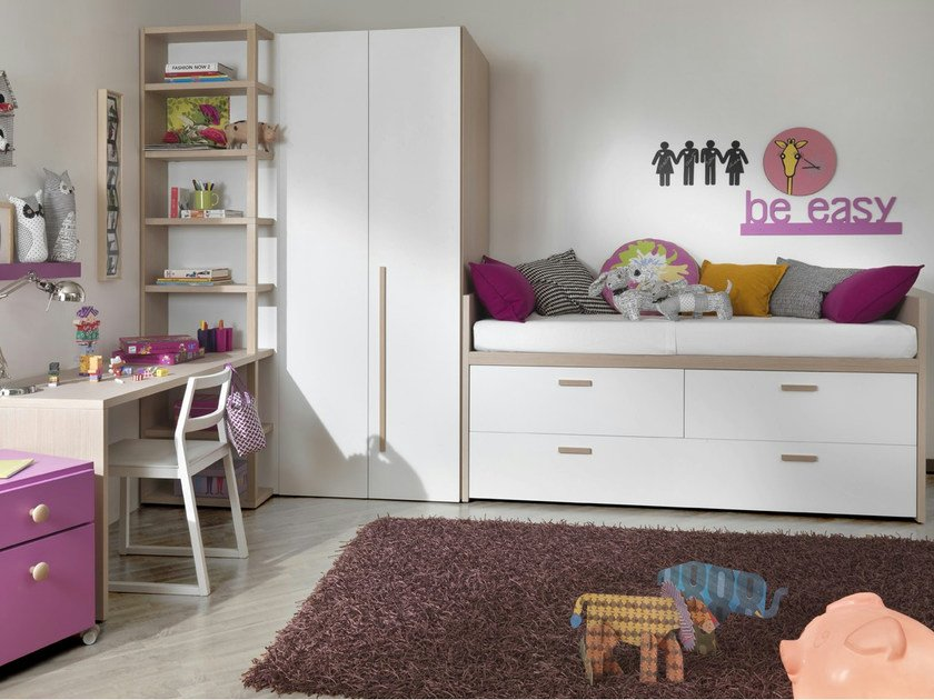 Wooden bed with cabinet 2012 | Bed with cabinet - dearkids