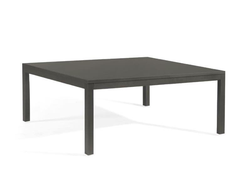Low Silestone® garden side table QUARTO | Low garden side table - MANUTTI