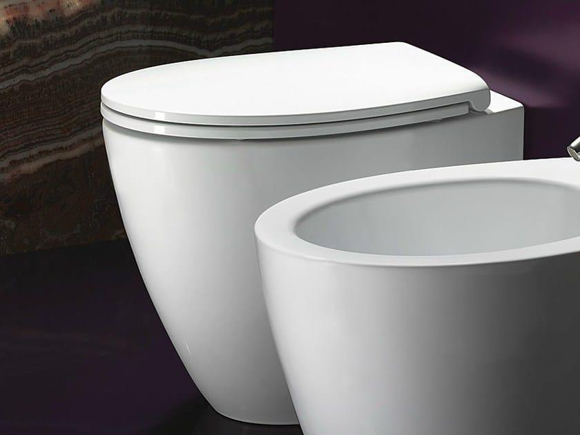 Design ceramic toilet VELIS 57   Toilet - CERAMICA CATALANO