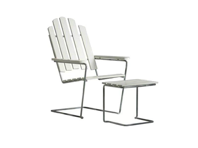 Sled base garden armchair A3 | Garden armchair - Grythyttan Stålmöbler