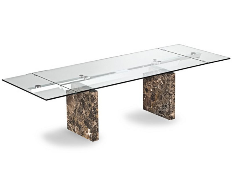 Table rectangulaire manger stone square by roche bobois for Muebles roche bobois catalogo