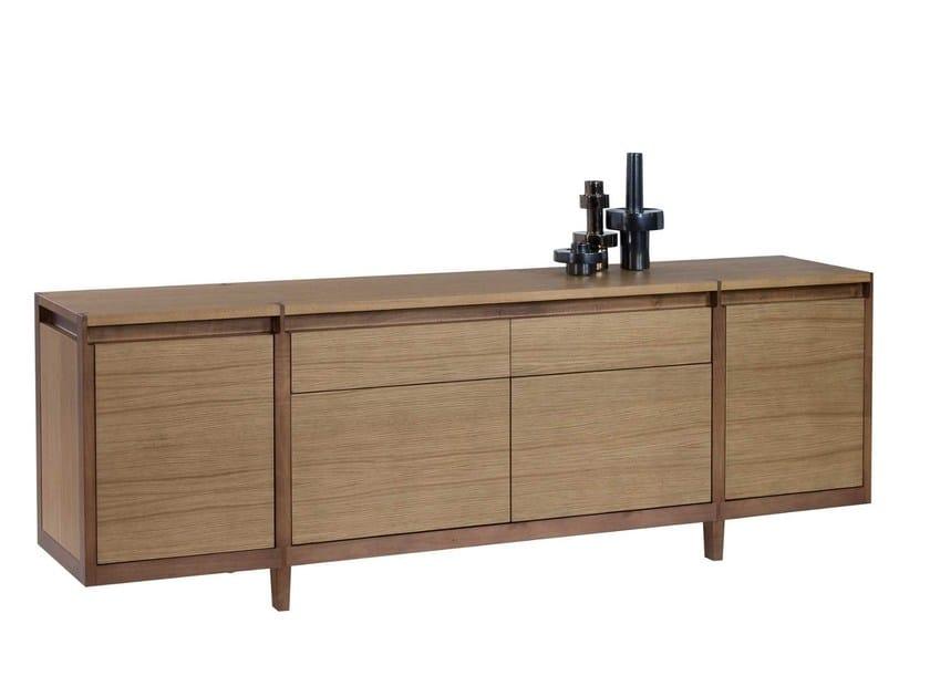 assemblage sideboard by roche bobois design stephane lebrun. Black Bedroom Furniture Sets. Home Design Ideas