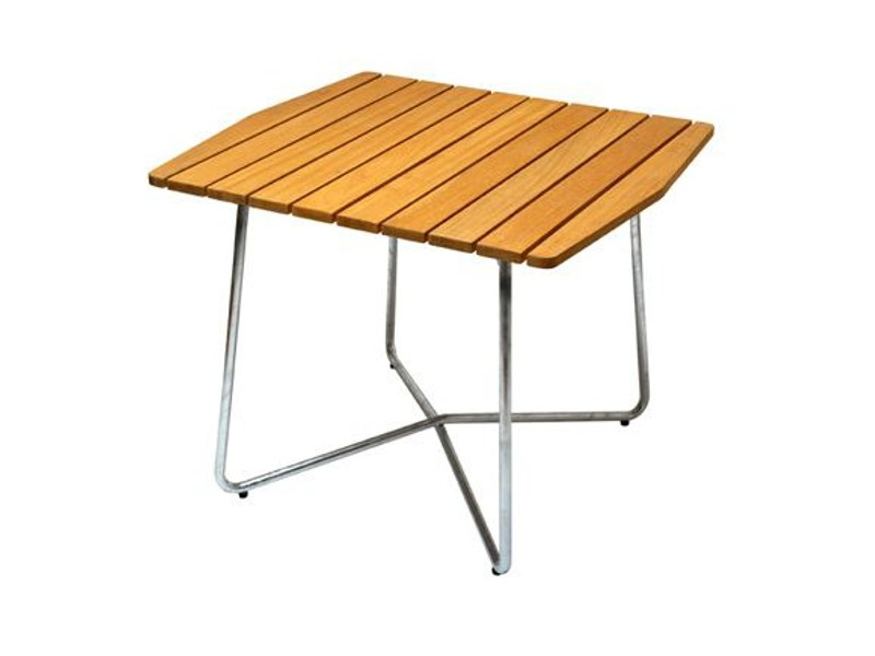 Square garden table B30 84 | Garden table - Grythyttan Stålmöbler