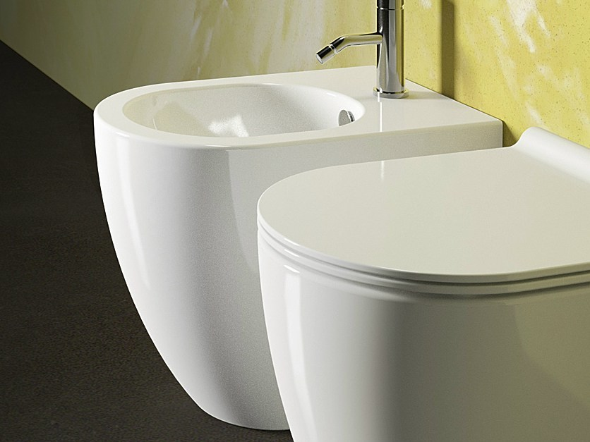 Sfera 52 bidet by ceramica catalano for Ceramica catalano