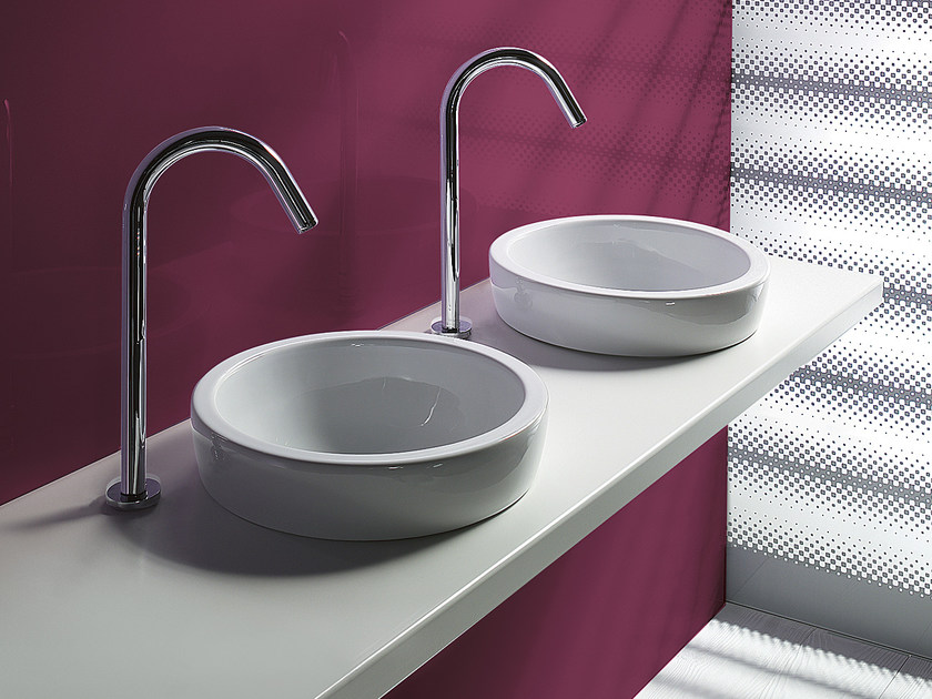 Countertop round ceramic washbasin SFERA 45 | Washbasin - CERAMICA CATALANO