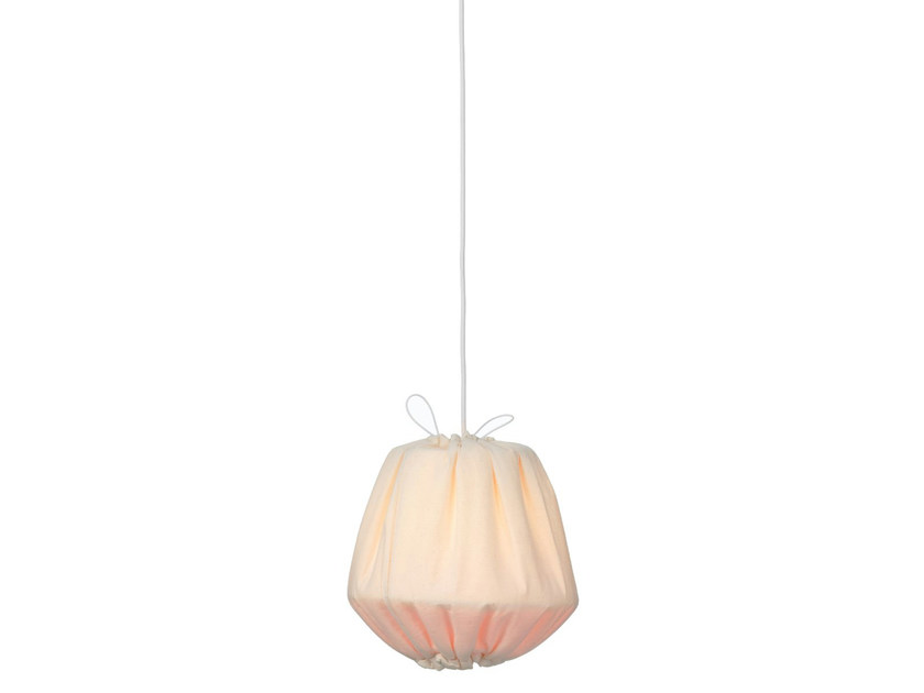 Fabric pendant lamp BAKLAVA   Pendant lamp by Örsjö Belysning