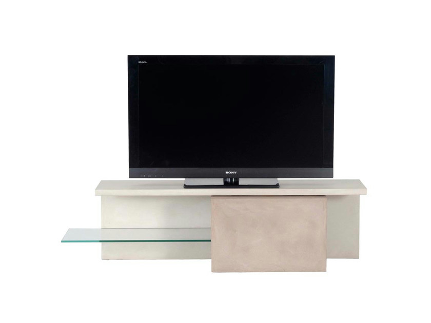Mobile tv in mdf decalo collezione les contemporains by roche bobois design - Roche bobois meuble tv ...