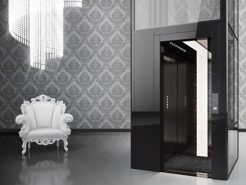 House lift DomusLift MADE WITH SWAROVSKI® ELEMENTS - IGV GROUP