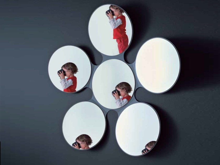 Wall-mounted mirror MARGARITA - Miniforms