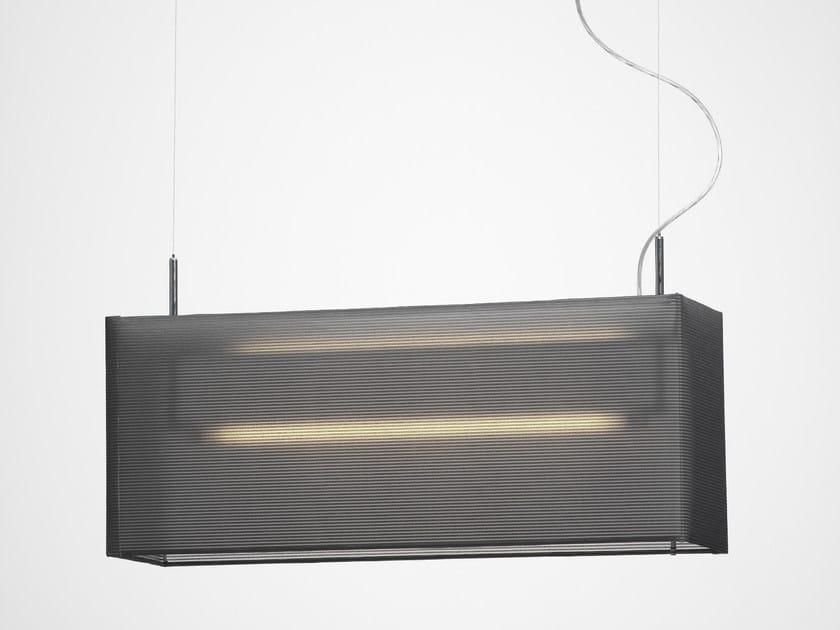 Chrome plated pendant lamp LANTERN by Örsjö Belysning