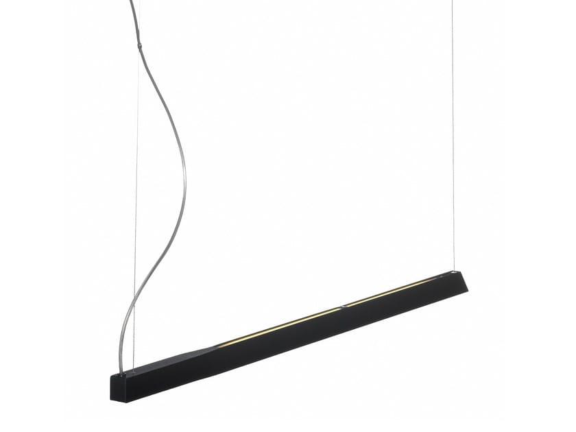 Painted metal pendant lamp SWEEPLIGHT | Pendant lamp - Örsjö Belysning