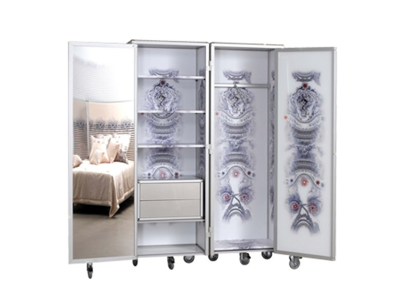 paravent kleiderschrank by roche bobois design jean paul gaultier. Black Bedroom Furniture Sets. Home Design Ideas