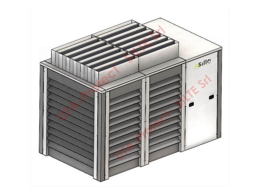Isolamento acustico per gruppi frigo condizionatori uta - Griglie per finestre esterne ...