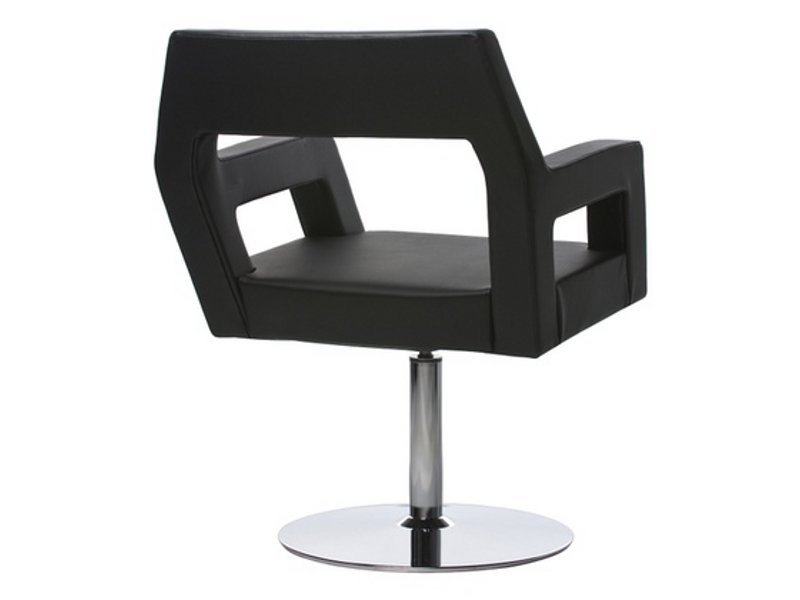 Swivel leather easy chair NEMO | Swivel easy chair - Johanson Design