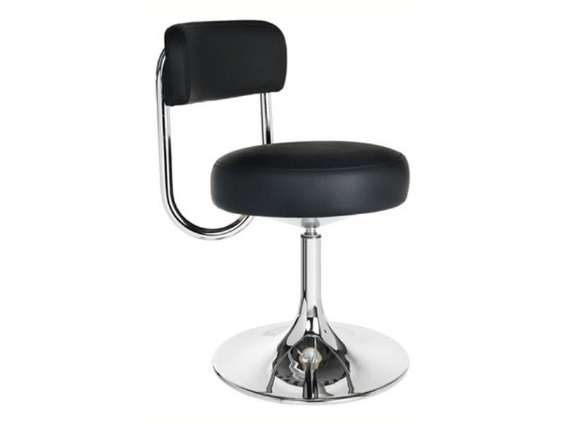 Swivel upholstered leather chair COBRA | Chair - Johanson Design