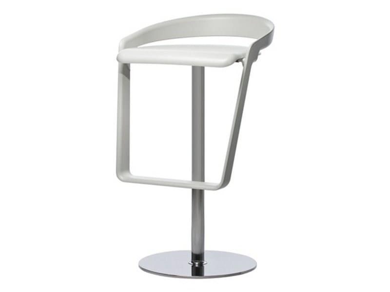 Swivel stool with footrest PIANO | Stool - Johanson Design