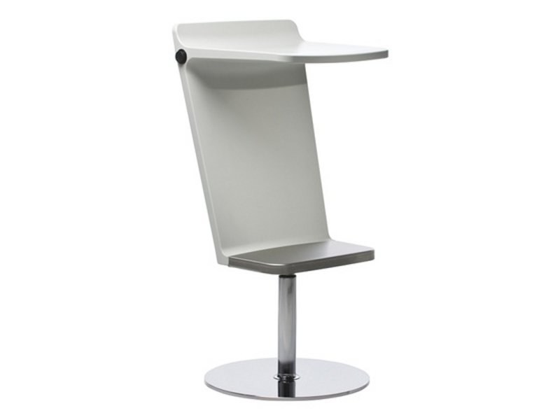 Swivel barstool with footrest LEVEL | Stool - Johanson Design