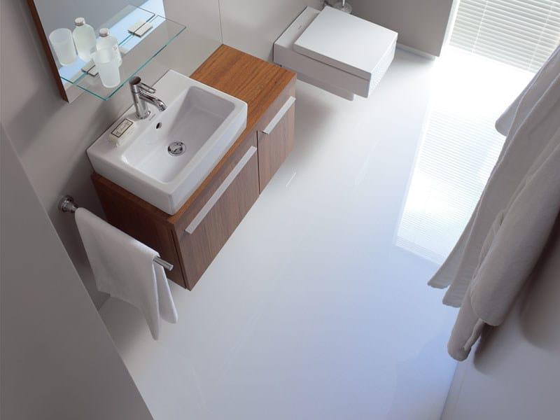 Mobile lavabo in legno x large by duravit - Lavabo 40 cm profondita ...