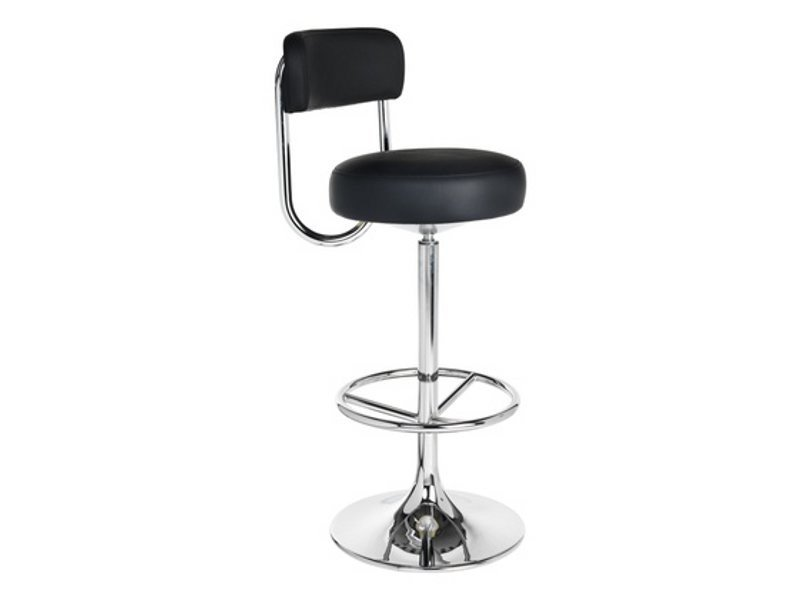Height-adjustable swivel barstool COBRA | Stool - Johanson Design
