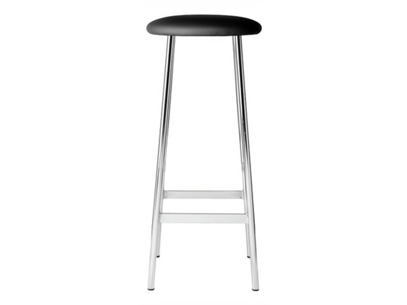 High leather barstool SPUTNIK by Johanson Design