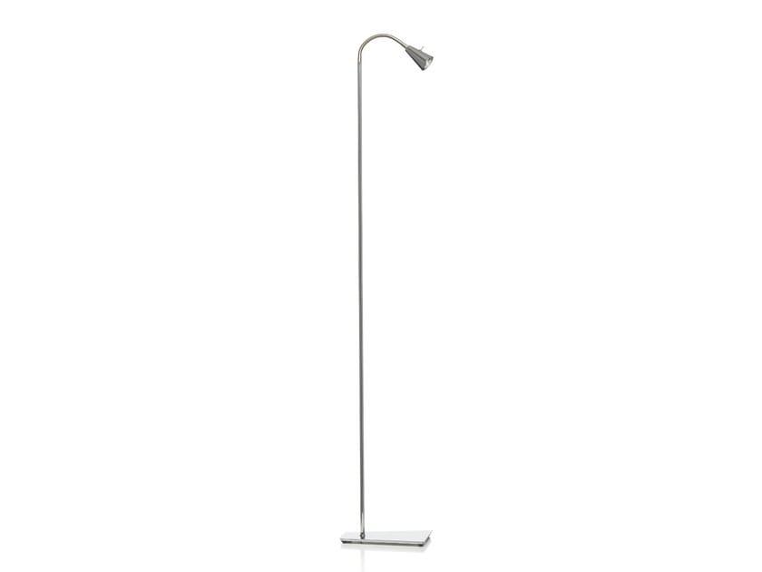 Floor lamp with swing arm COOL   Floor lamp - Örsjö Belysning