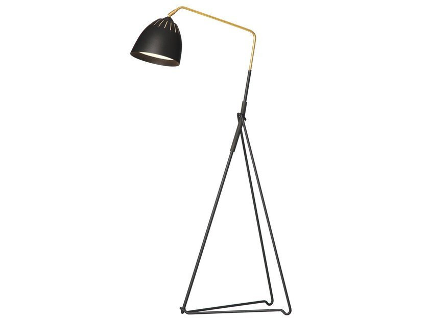 Metal floor lamp LEAN | Floor lamp - Örsjö Belysning