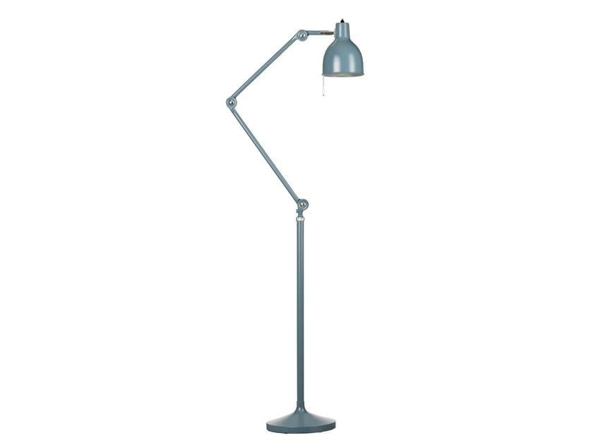 Adjustable enamelled metal floor lamp PJ80 - Örsjö Belysning