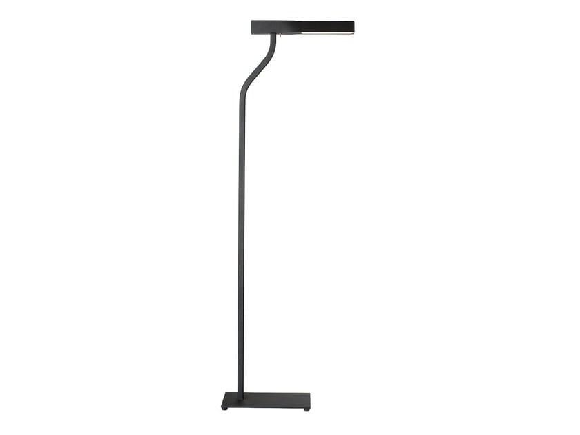 Painted metal floor lamp SWEEPLIGHT | Floor lamp by Örsjö Belysning