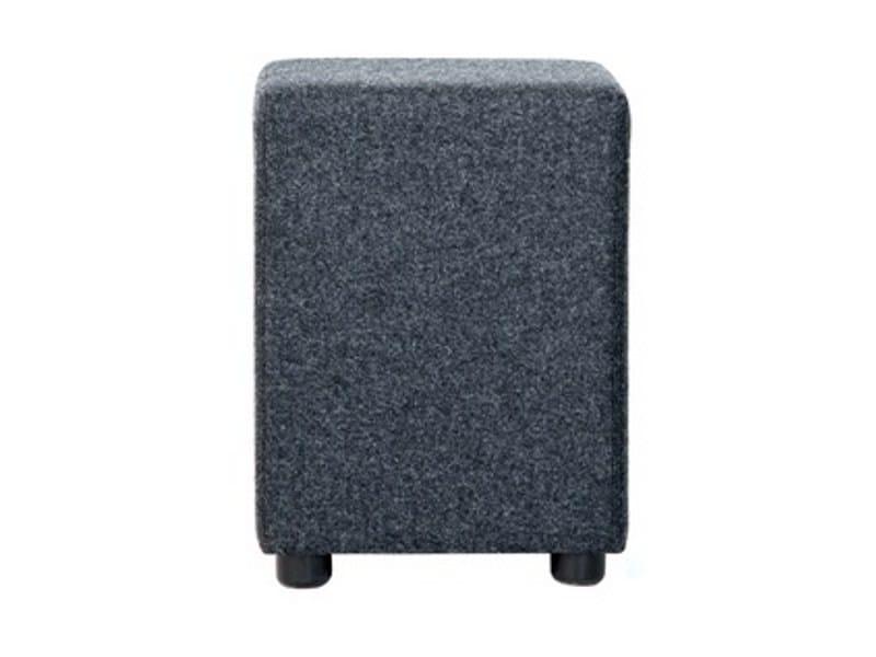 Upholstered fabric pouf BIB - Johanson Design