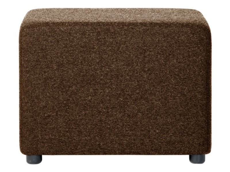 Upholstered fabric pouf BILLY - Johanson Design