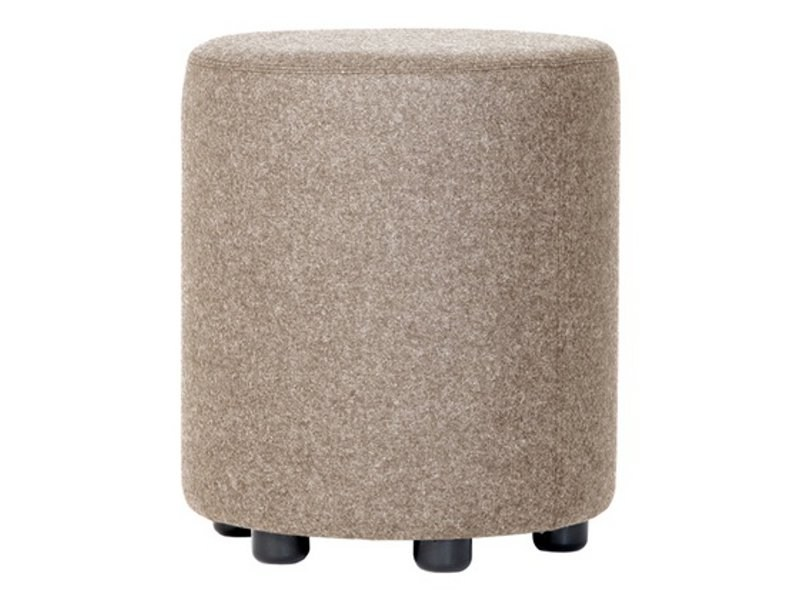 Upholstered fabric pouf BOB by Johanson Design